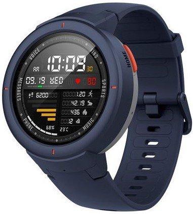 Умные часы Xiaomi Amazfit Verge, голубые фото