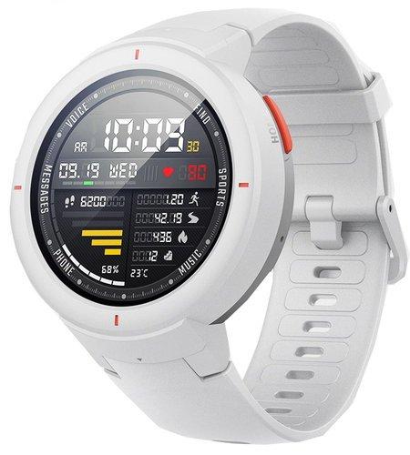 Умные часы Xiaomi Amazfit Verge, белые фото