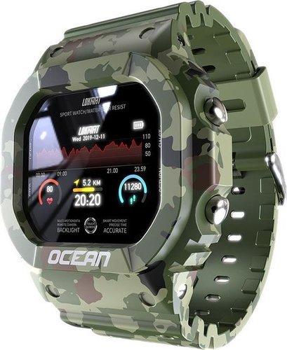 Умные часы Lokmat Ocean, водонепроницаемые, зеленый фото