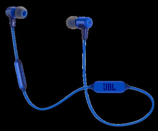 Наушники JBL E25BT, синий фото