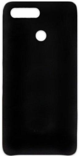 Чехол для смартфона Xiaomi Redmi 6 силиконовый (матовый черный), BoraSCO фото
