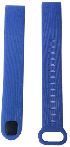 Ремешок силиконовый для Honor Band 3 синий фото