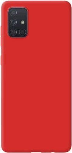 Чехол-накладка для Xiaomi Mi10T/ Mi10T Pro красный, Microfiber Case, Borasco фото
