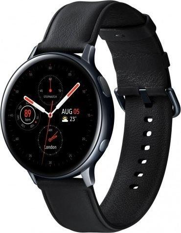 Умные часы Samsung Galaxy Watch Active 2 Stainless Steel 44мм, черные фото