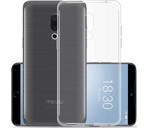 Чехол для смартфона Meizu 15 lite Silicone прозрачный, TFN фото