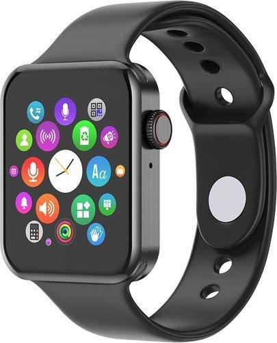 """Умные часы Bakeey Migo 1.54"""", черный фото"""