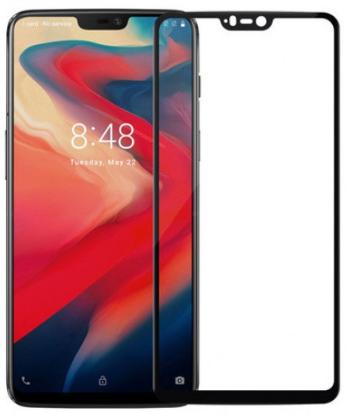 Защитное стекло для OnePlus 6 Full Screen FULL GLUE черный, Redline фото