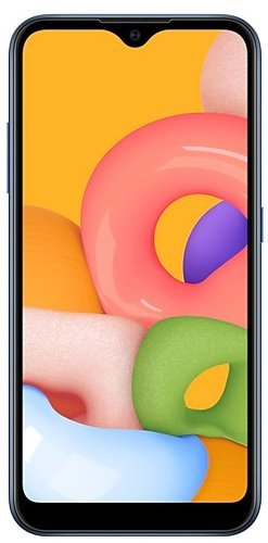 Смартфон Samsung (A015F) Galaxy A01 Синий фото