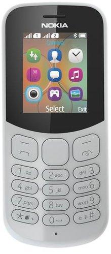Мобильный телефон Nokia 130 Dual Sim (2017) Серый фото