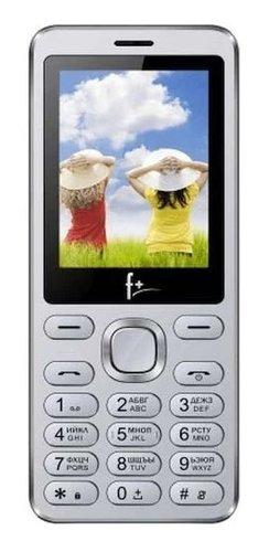 Мобильный телефон F+ S240 Серебристый фото