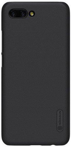 Чехол клип-кейс для Huawei Honor 10 (черный), Nillkin Super Frosted Shield фото