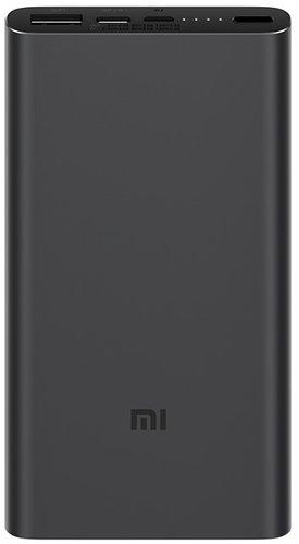 Внешний аккумулятор Xiaomi Mi Power Bank 3 10000 mah PLM12ZM черный фото