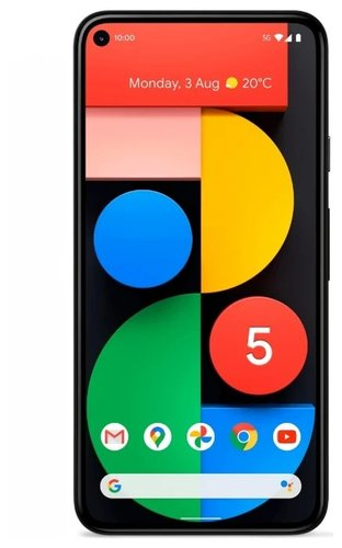 Смартфон Google Pixel 5 8/128Gb Black (Черный) фото