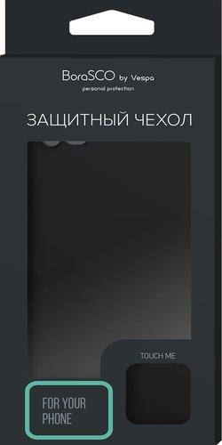 Чехол-накладка Hard Case для Xiaomi Mi 9 Lite черный, Borasco фото