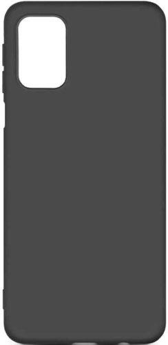 Чехол-накладка для Samsung (M317) Galaxy M31s черный, Microfiber Case, Borasco фото