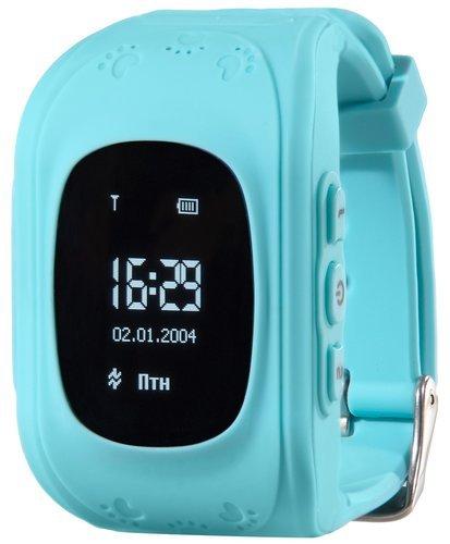 Детские умные часы Prolike PLSW50BL, голубые фото
