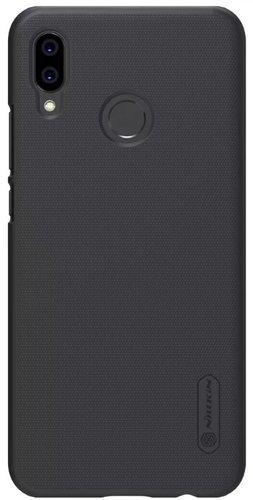 Чехол клип-кейс для Huawei P20 Lite (черный), Nillkin Super Frosted Shield фото