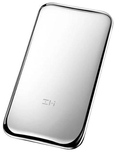 Внешний аккумулятор Xiaomi Mi Power Bank ZMI 6000 mah Type-C Quick Charge 2.0 QPB60 Space серебристый фото