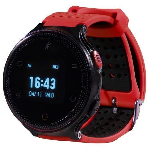 Умные часы Prolike с измерением давления PLSW1000RD, красные фото