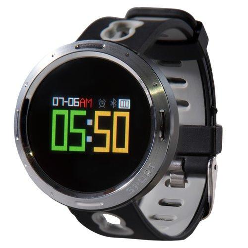 Умные часы Prolike с измерением давления, черно-серые PLSW4000G фото