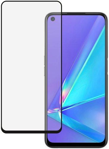 Защитное стекло для Oppo A52/A72 Full Screen Full Glue черный , BoraSCO фото