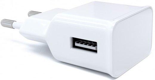 СЗУ адаптер 1 USB (модель NT-1A), 1A белый, Redline фото