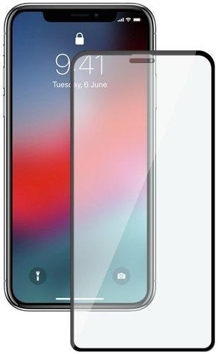 Защитное стекло для Apple iPhone XR Full Screen Full Glue черный, BoraSCO фото