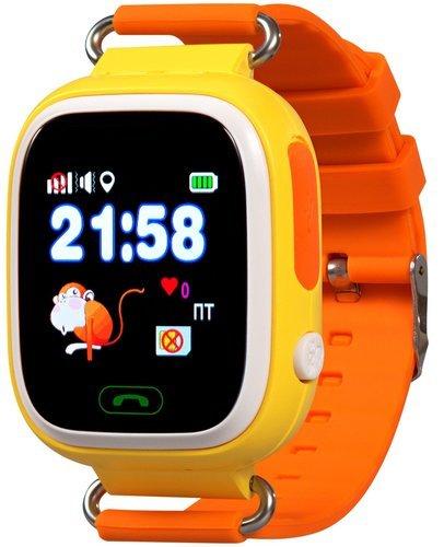 Детские умные часы Prolike PLSW90OR, оранжевые фото