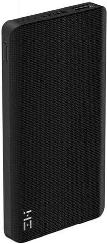 Внешний аккумулятор Xiaomi Mi Power Bank ZMI 10000 mah QB810 черный фото