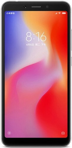 Смартфон Xiaomi RedMi 6 3/32Gb Black (Черный) EU фото