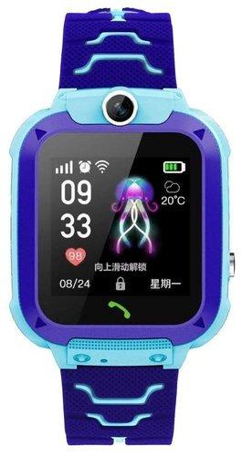Детские умные часы Bakeey Q12, синий фото