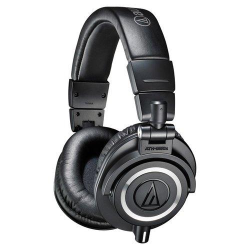 Наушники Audio-Technica ATH-M50X черный фото
