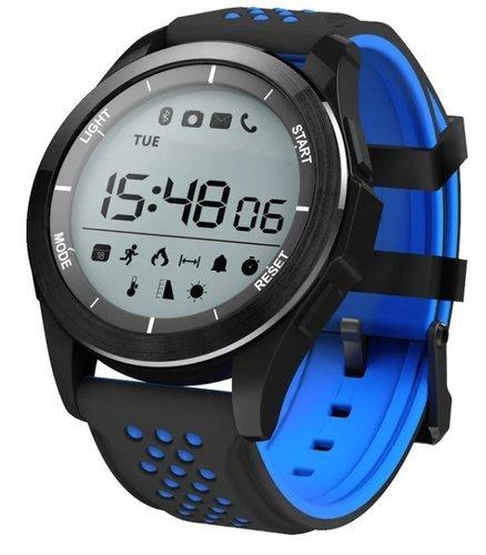 Умные часы NO.1 F3 черно-синие фото