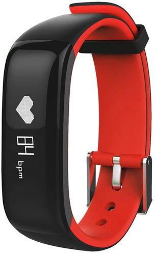 Фитнес браслет JET Sport FT-7, черно-красный фото