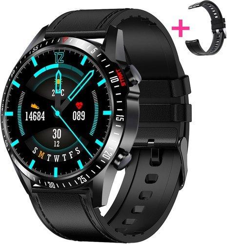 Умные часы Bakeey CK29S с дополнительным ремешком, черный фото