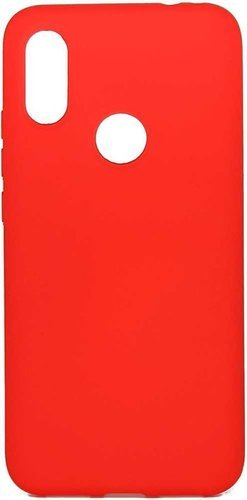 Чехол-накладка Hard Case для Xiaomi Redmi 7 красный, Borasco фото