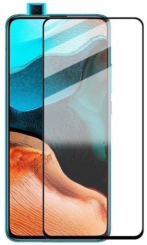 Защитное стекло для Xiaomi Poco F2 Pro Full Screen Full Glue черный, BoraSCO фото