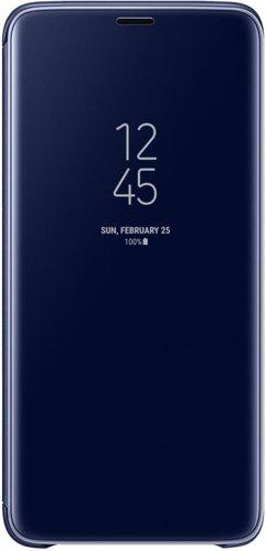 Чехол-книжка для Samsung (G965) Galaxy S9+ ClearView синий фото