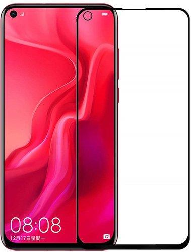 Защитное стекло для Huawei Honor View 20 Full Screen Full Glue черный, Redline фото
