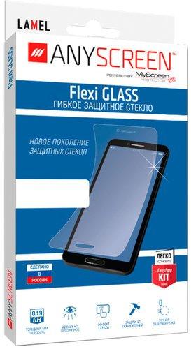 Защитное стекло для OnePlus Nord N100 Flexi Glass гибридное, Anyscreen фото