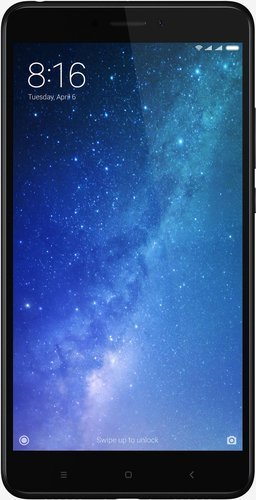 Смартфон Xiaomi Mi Max 2 64Gb Black (Черный) фото