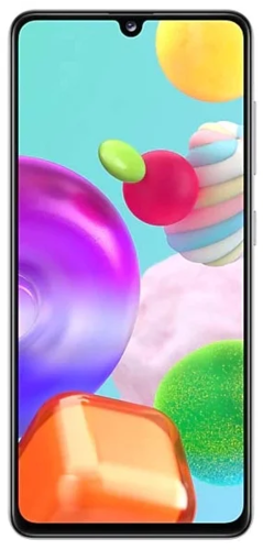 Смартфон Samsung (A415F) Galaxy A41 64Gb Белый фото