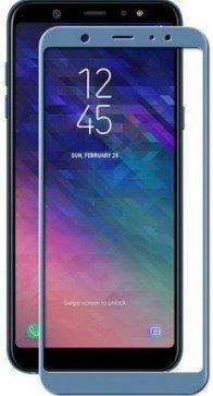 Защитное стекло для Samsung Galaxy A6 Plus (2018) Full Screen синий, Redline фото