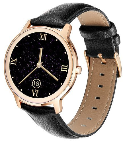 Умные часы Newwear R18 7.3 мм, черный фото