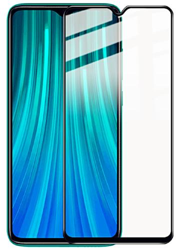 Защитное стекло для Xiaomi Redmi Note 8 Pro Full Screen Full Glue черный, Redline фото