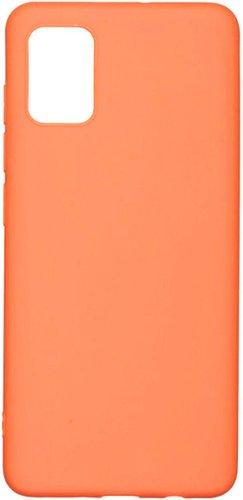 Чехол-накладка для Samsung Galaxy A52, оранжевый, Redline фото