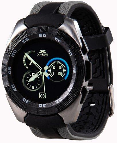 Умные часы Prolike Jet PLSW7000GR с цветным дисплеем, черно-серые фото