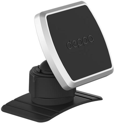 Автомобильный держатель Mage Mount для смартфонов, магнитный, крепление на приборную панель, черный, фото