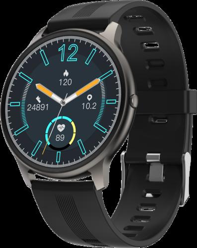 Умные часы Bakeey LW11, водонепроницаемые, черный фото