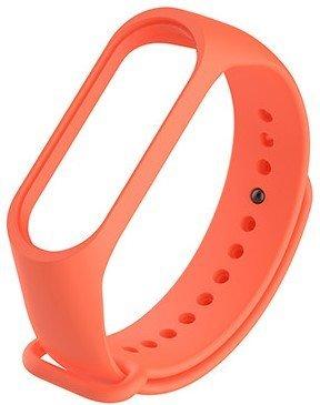 Ремешок для браслета Mi Band 3, оранжевый фото